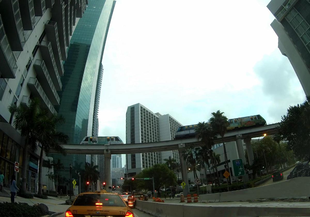 Miami atrakcje-Miami Metromover