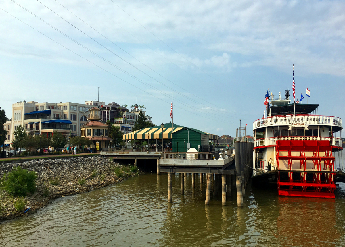 Nowy Orlean-Mississippi Tour Ship