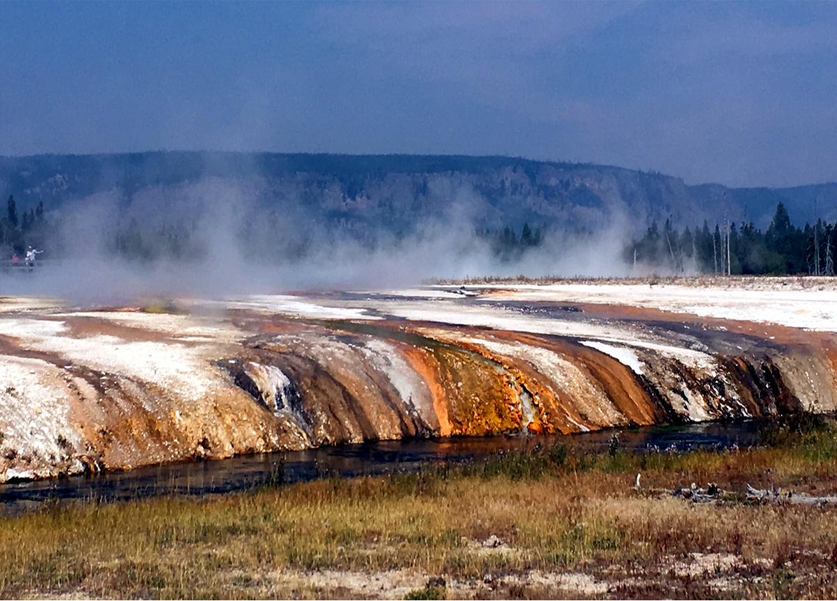 Park Narodowy Yellowstone-Black Sand Basin