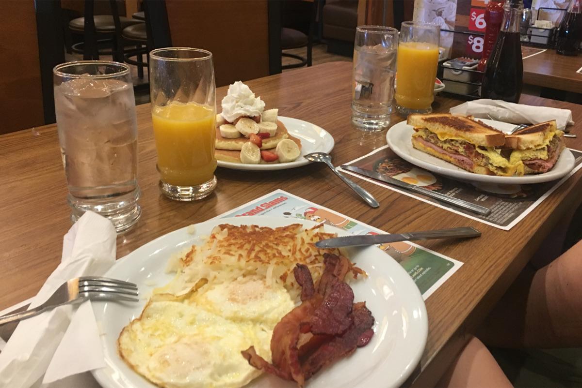 jedzenie w usa-amerykańskie śniadanie