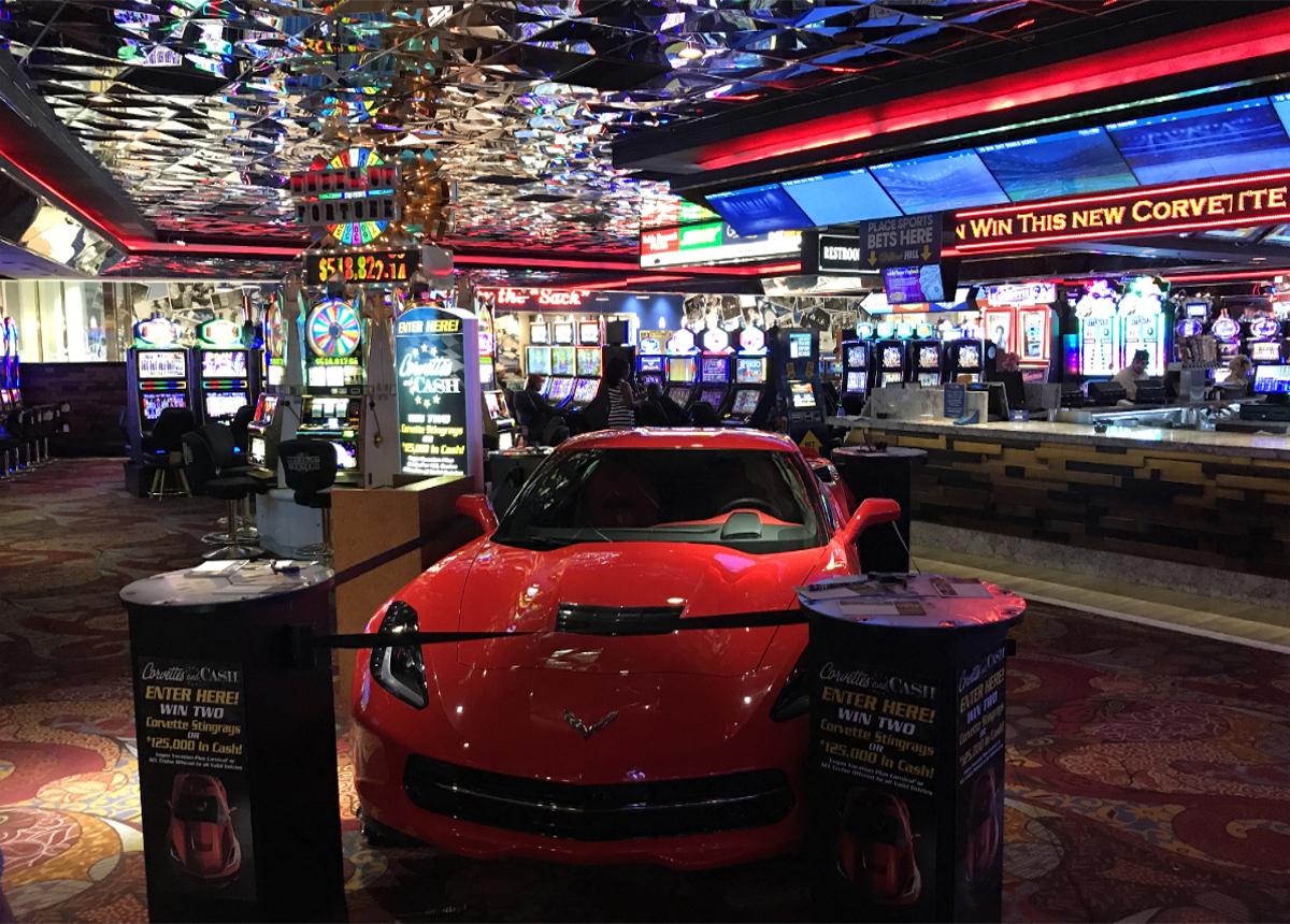 Corvette in Las Vegas Casino