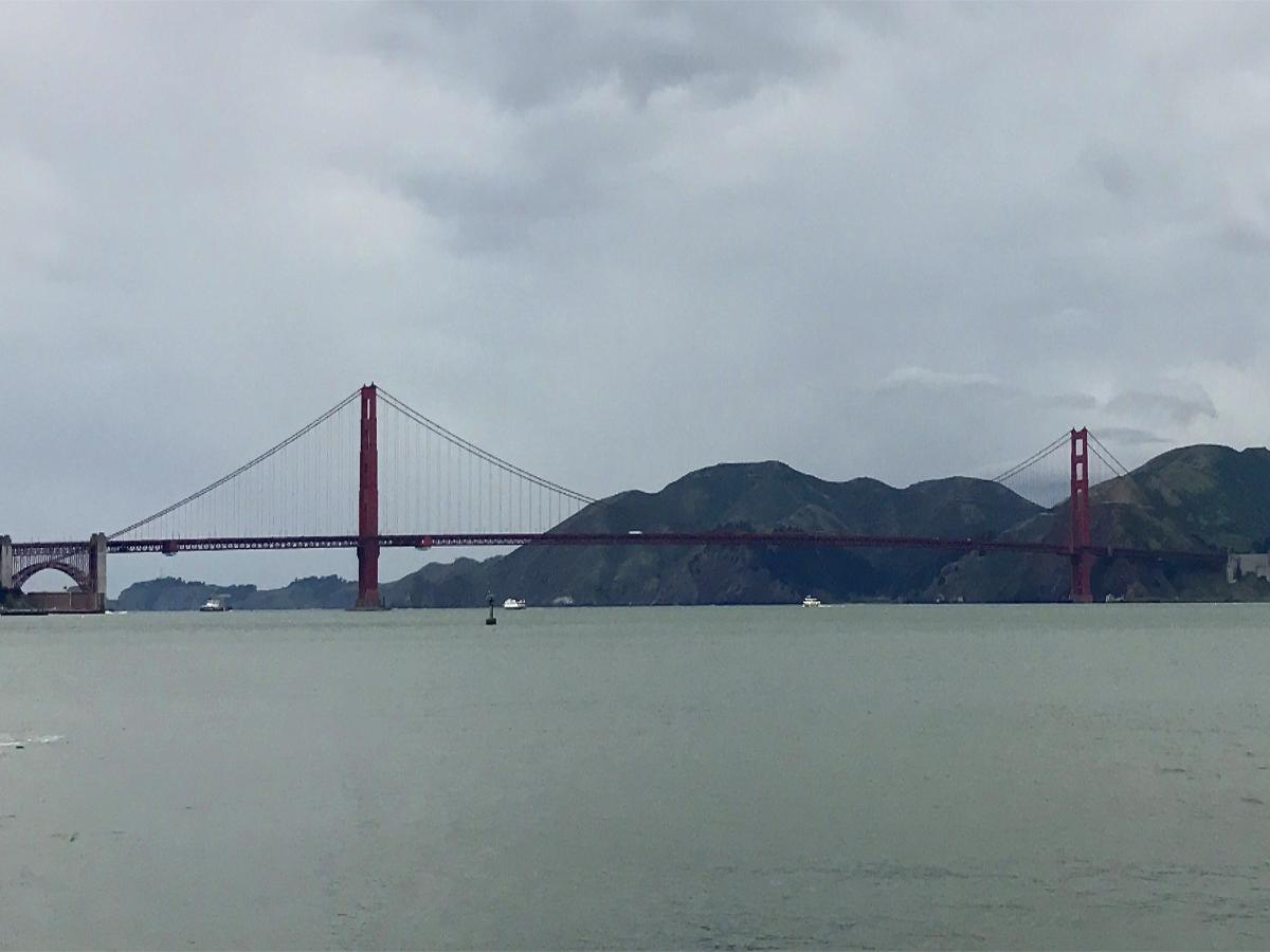 San Francisko Attractions-Most Golden Gate