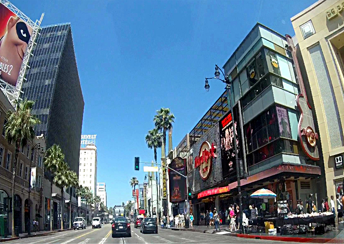 Los Angeles atrakcje-Hollywood Boulevard