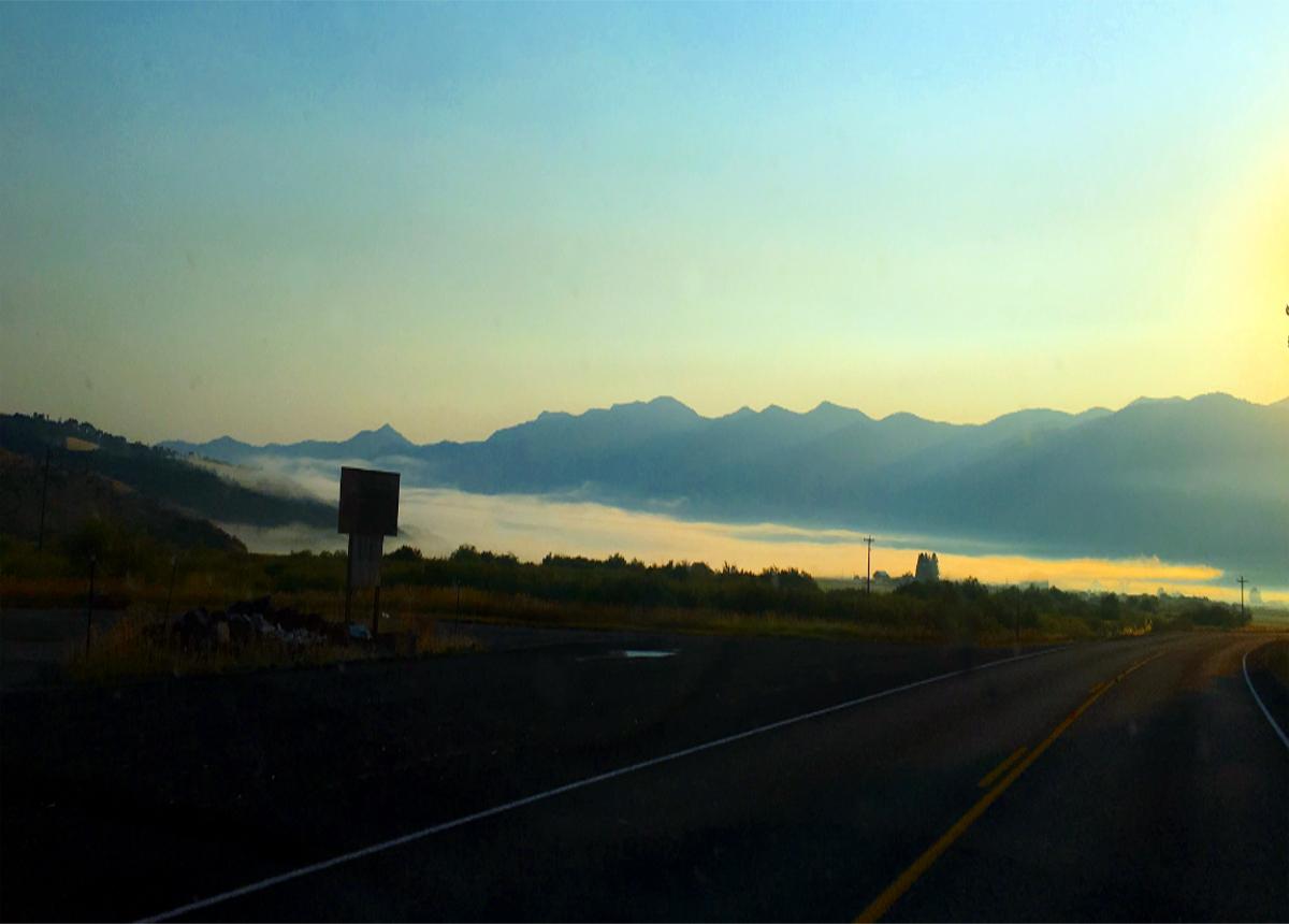 Droga w stanie Idaho