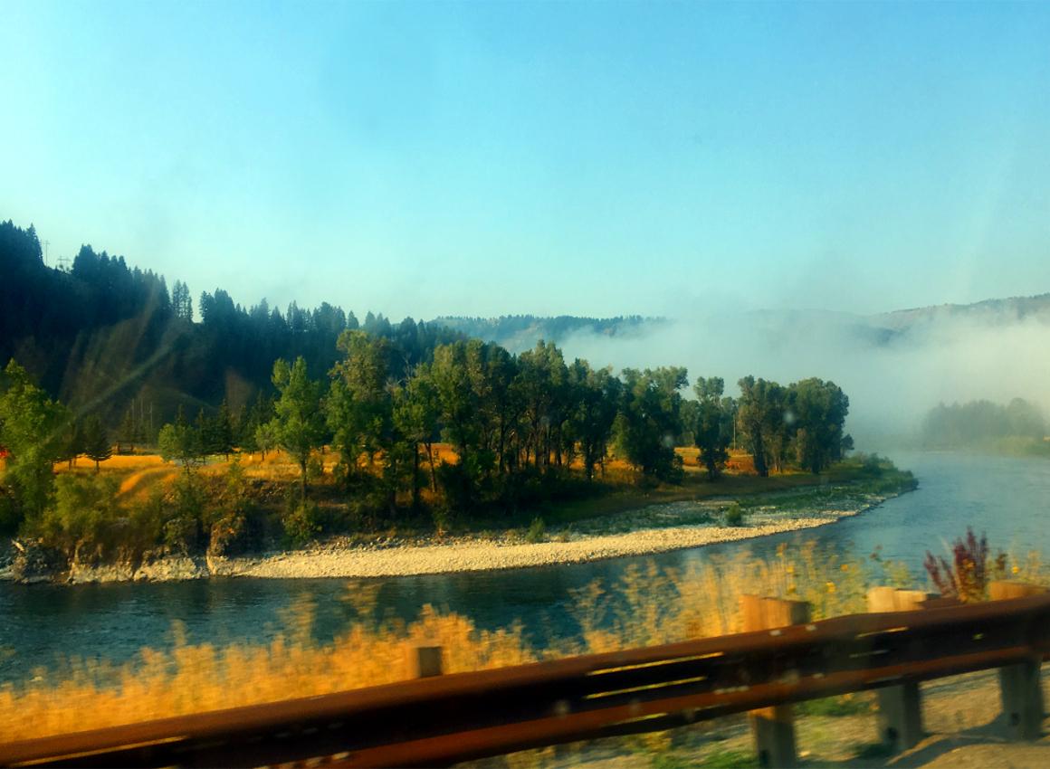 Rzeka w Idaho