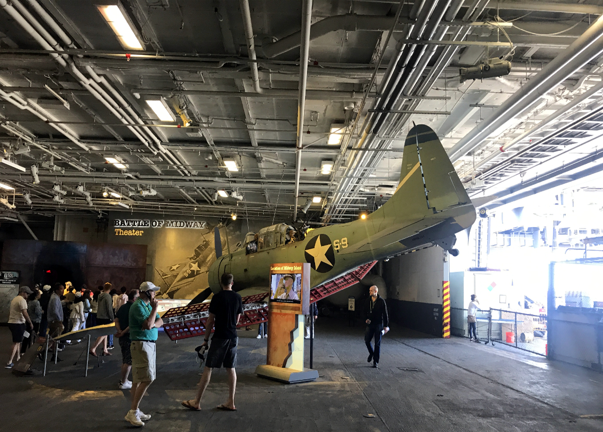 USS Midway-Old Aircraft