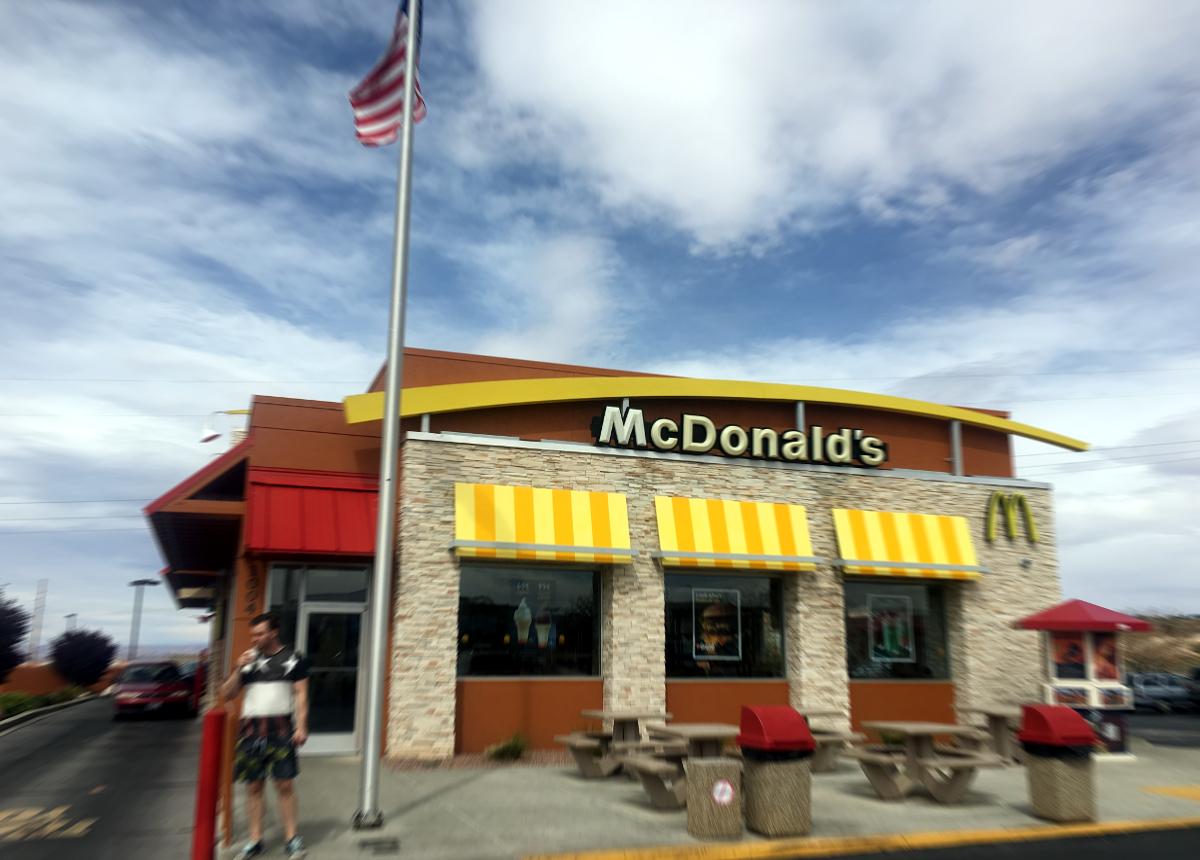 jedzenie w usa-McDonald's w USA