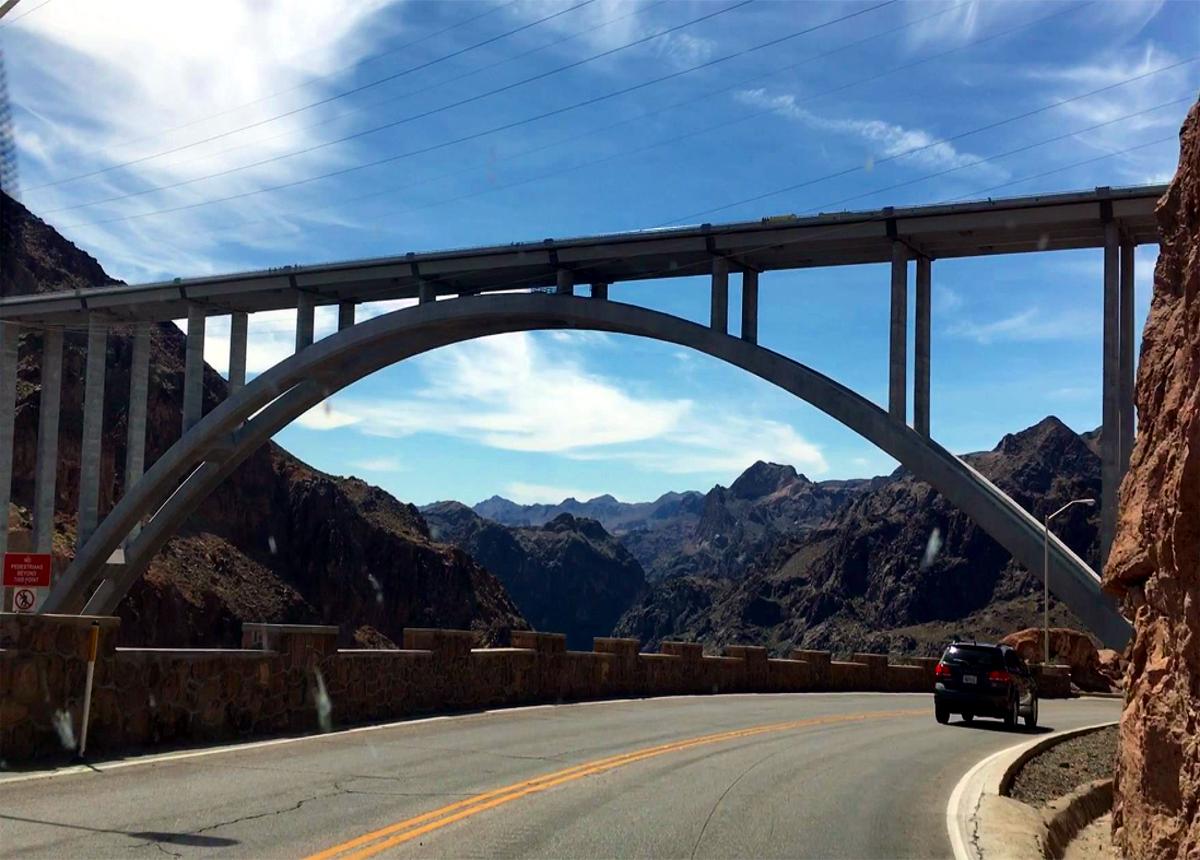 Bridge near Hoover Dam
