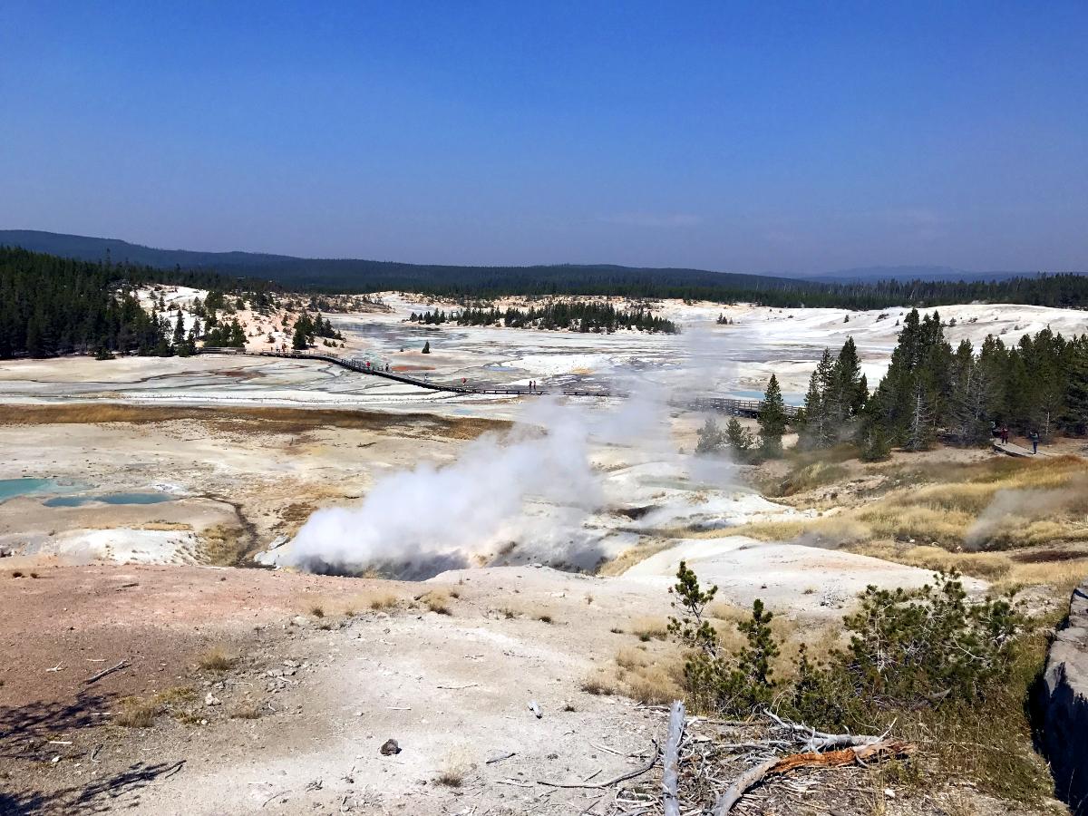 Park Narodowy Yellowstone-Norris Geyser Basin
