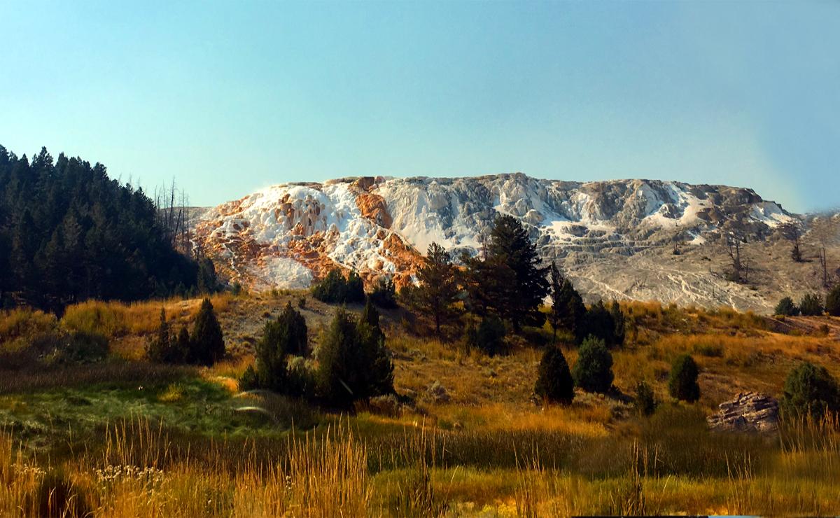 Park Narodowy Yellowstone-Mammoth Hot Springs