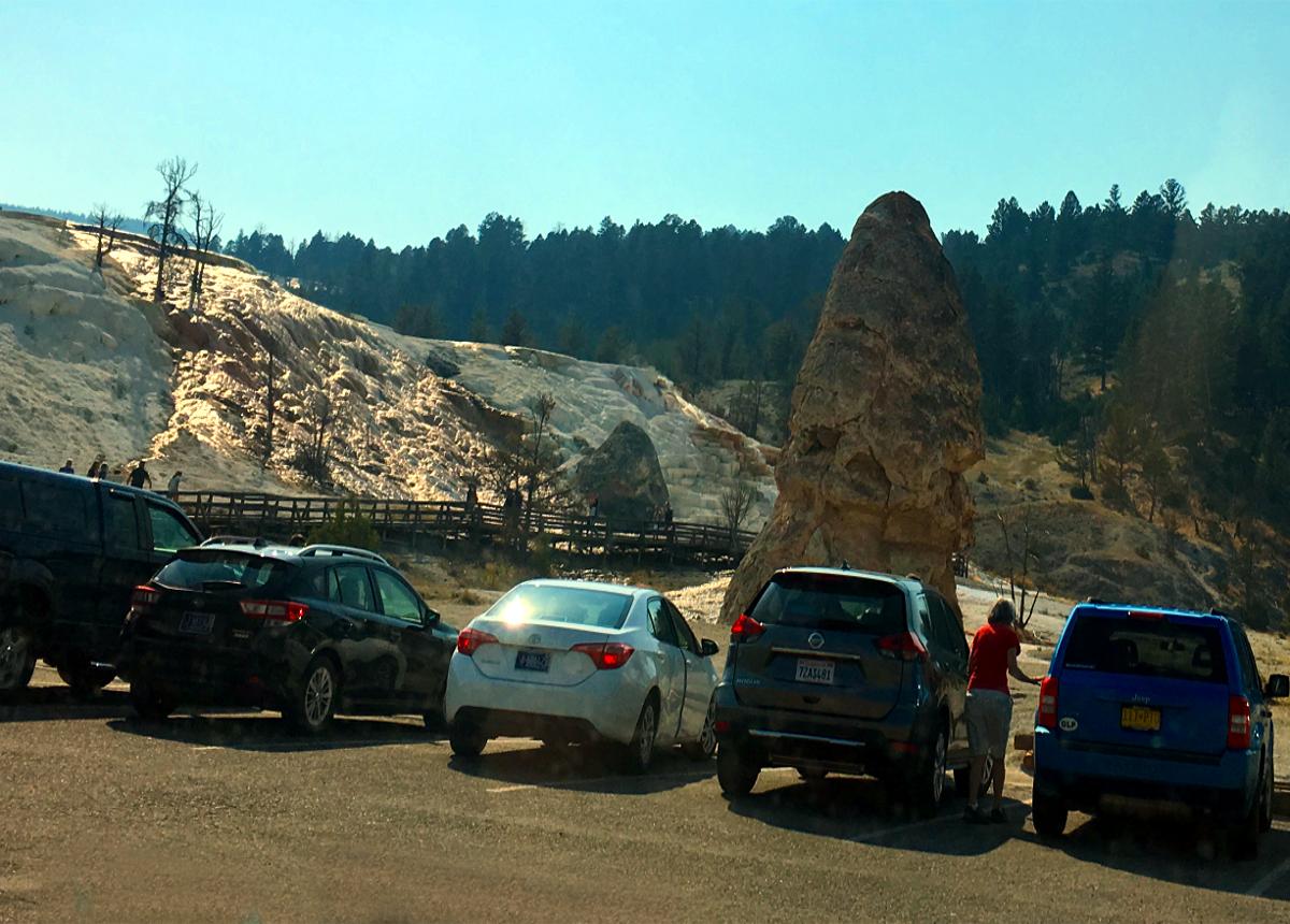 Park Narodowy Yellowstone-Devil's Thumb