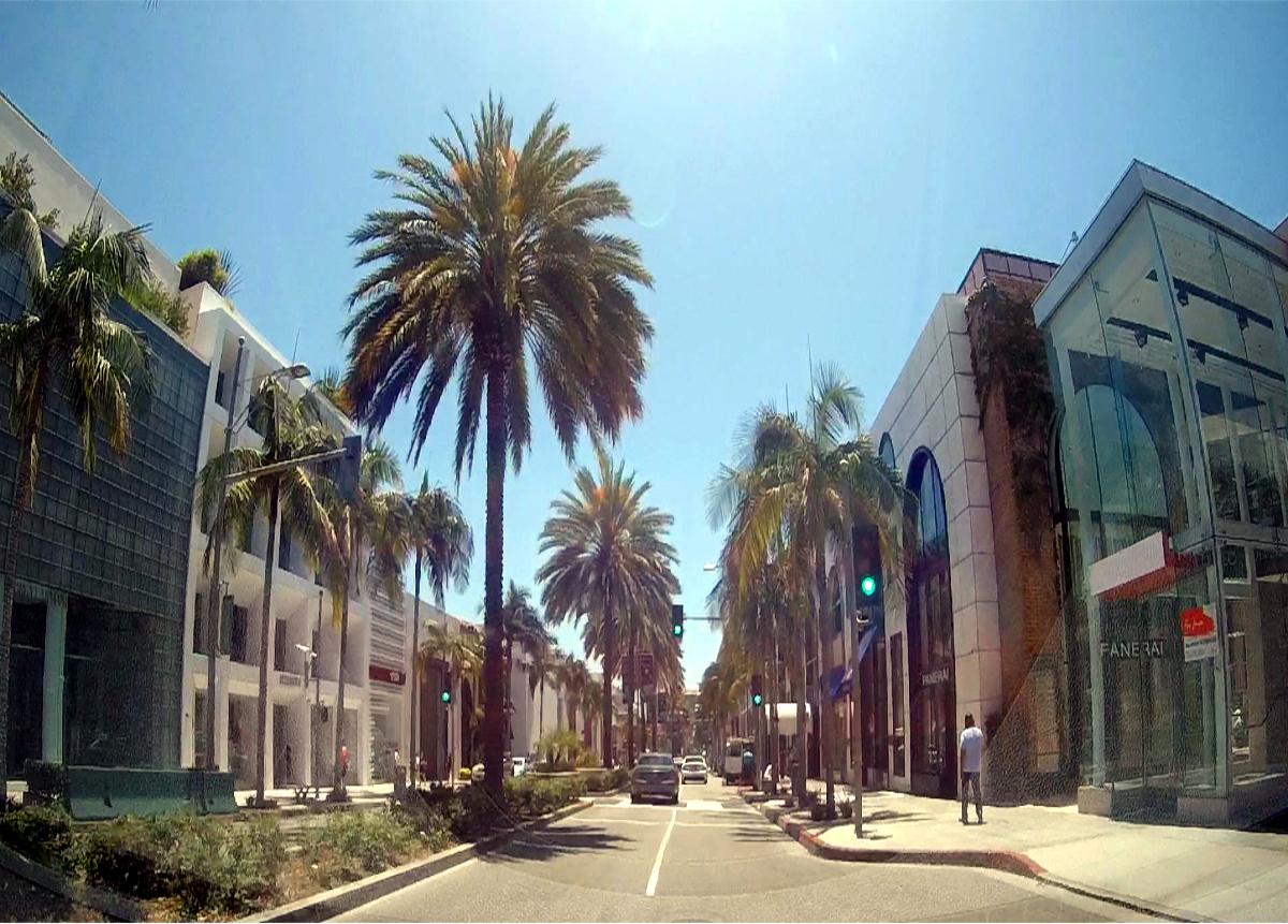 Los Angeles atrakcje-Rodeo Drive