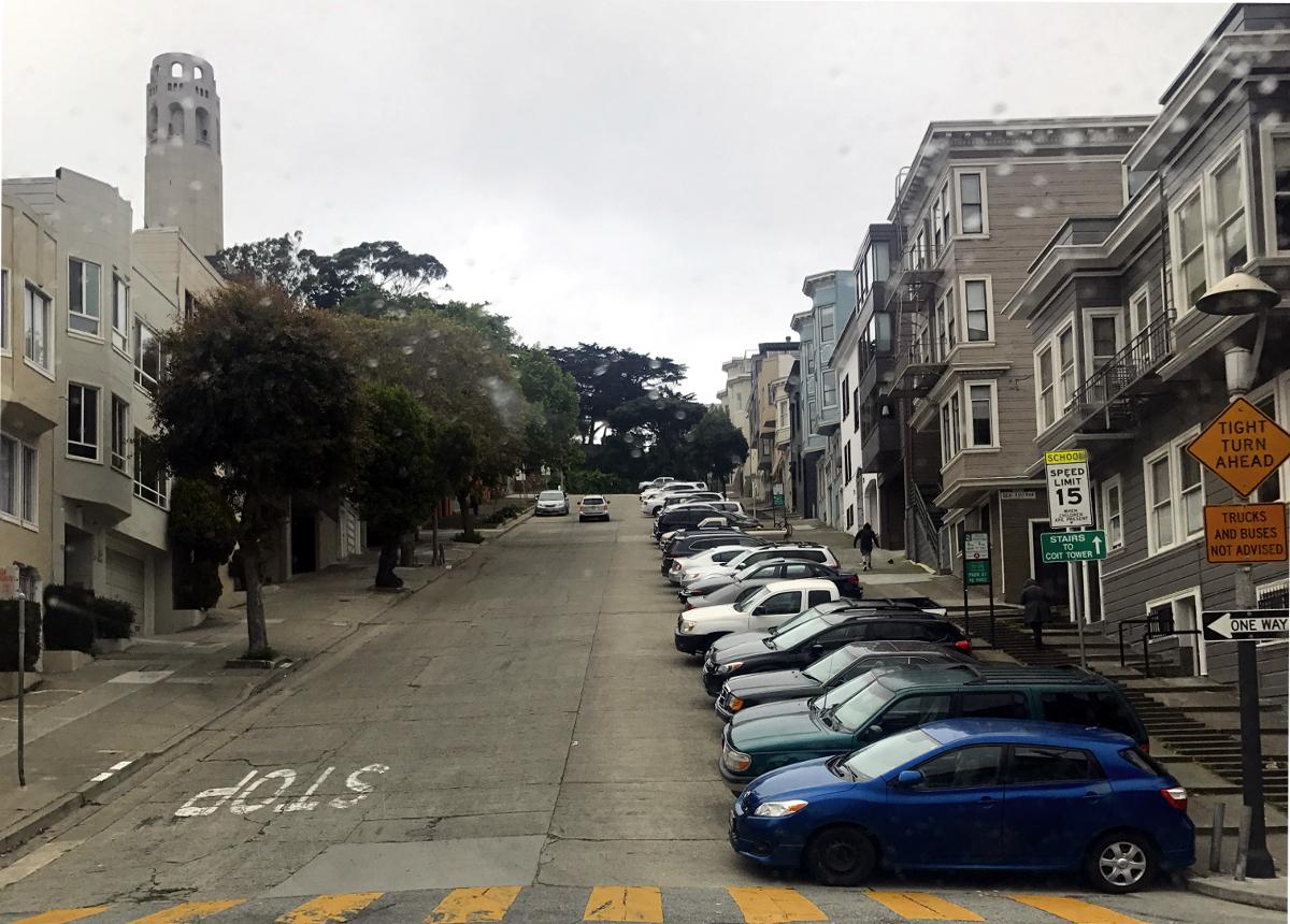 San Francisco atrakcje-Telegraph Hill