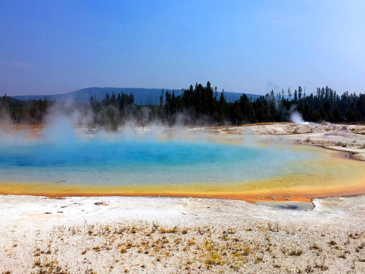 Park Narodowy Yellowstone-Sunset Lake