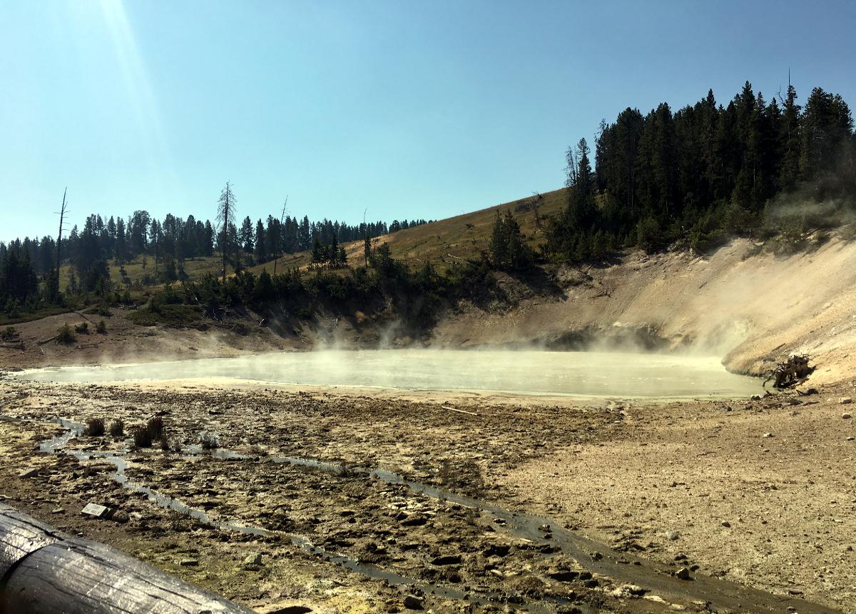 Gorące źródła w Yellowstone