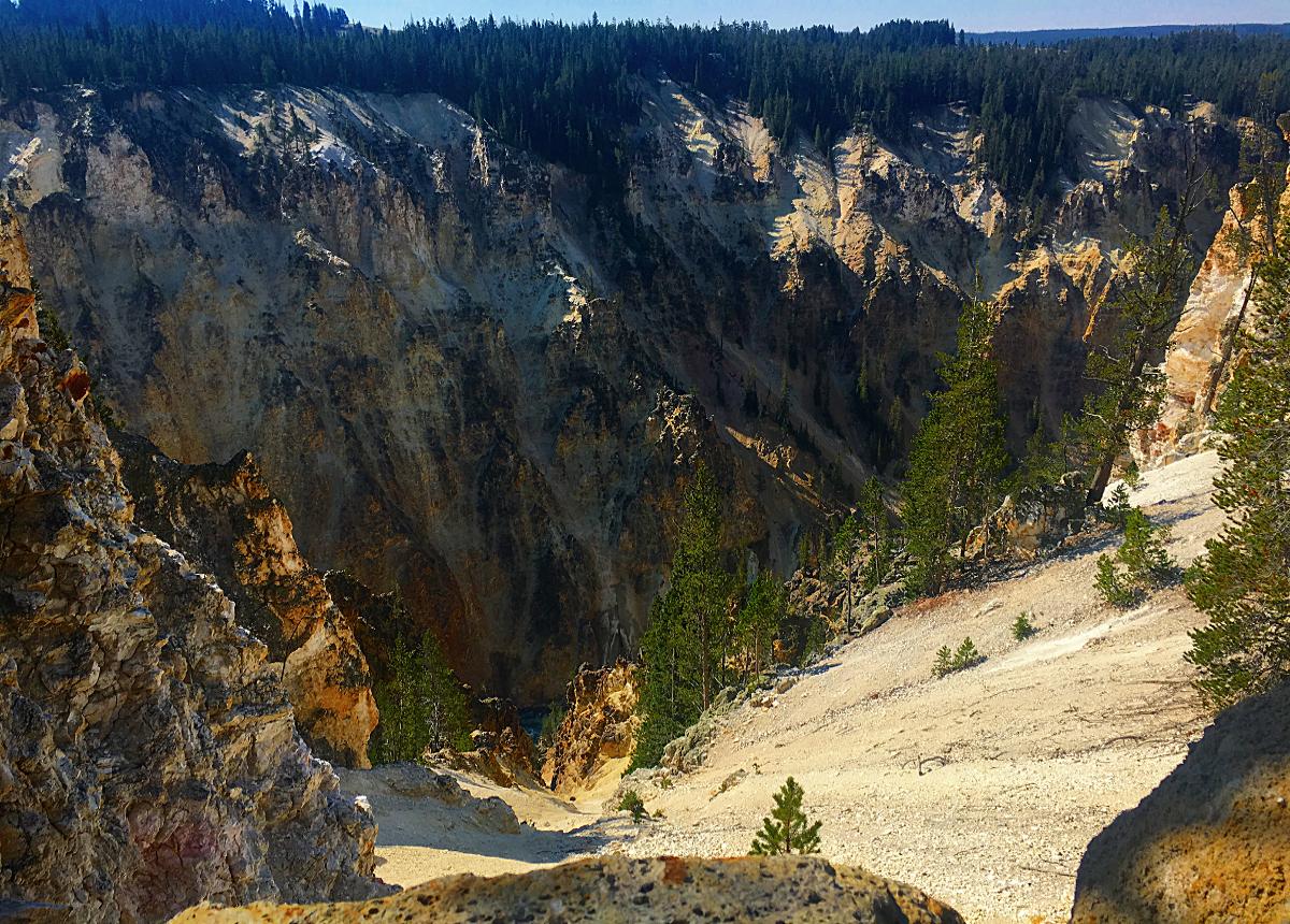 Park Narodowy Yellowstone-Grand Canyon of Yellowstone