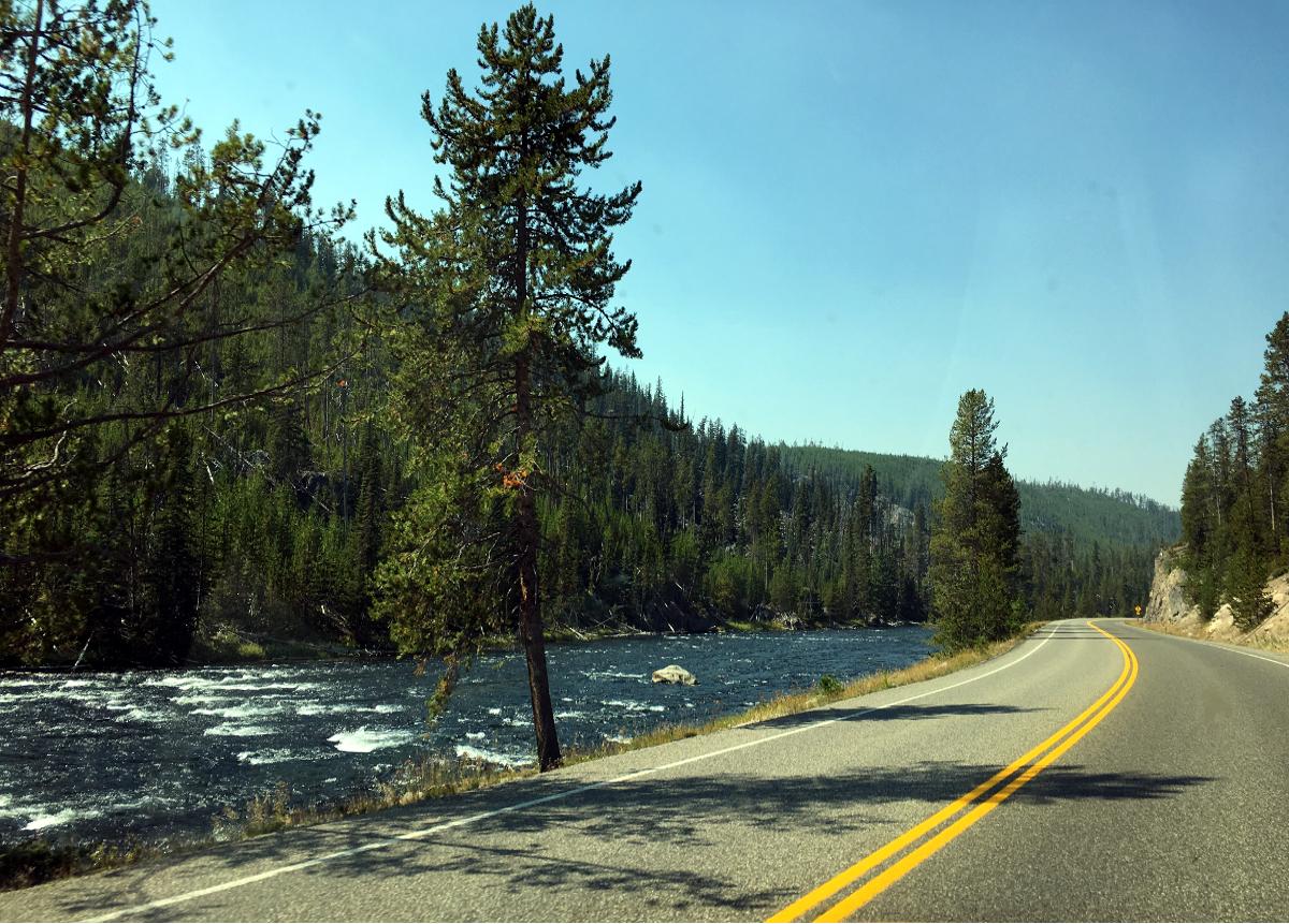 Park Narodowy Yellowstone-Strumień