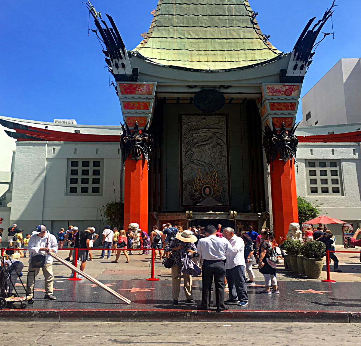 Los Angeles atrakcje-Chinese Theatre