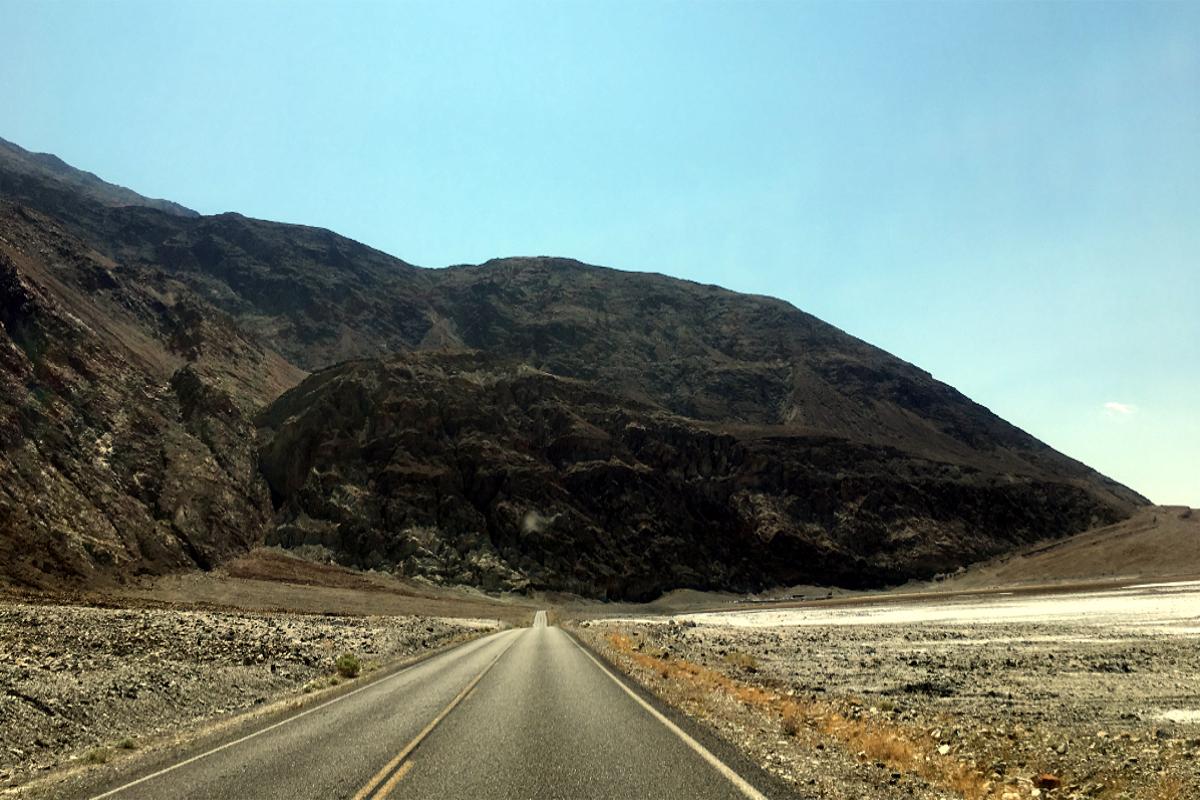 Death Valley Main Road