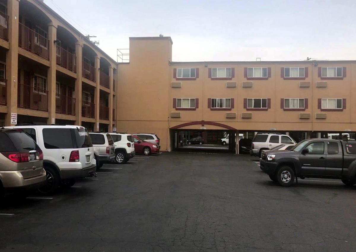 Typowy hotel w USA