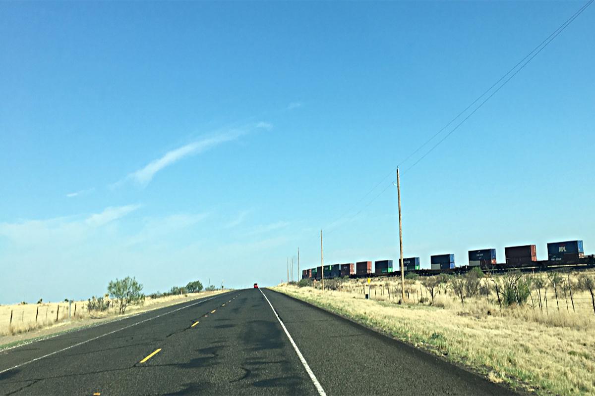 Cargo Train in USA