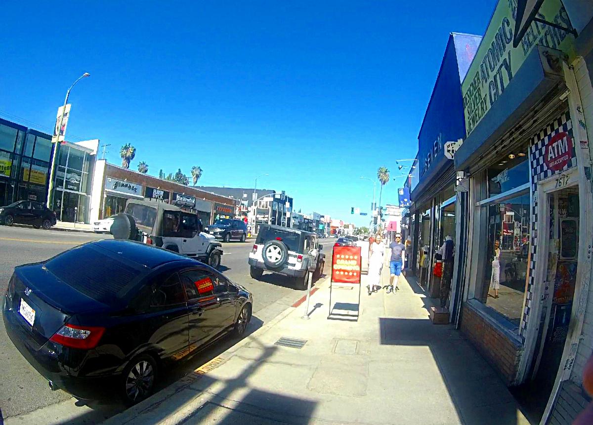 Los Angeles atrakcje-Melrose Avenue