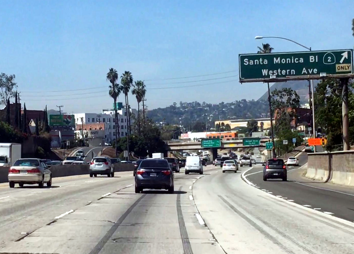 Highway In Los Angeles