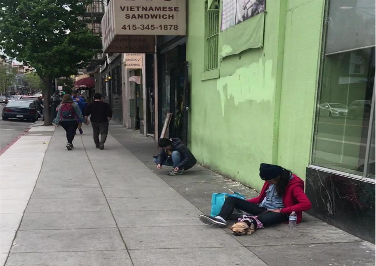 Real America-San Francisco Homeless