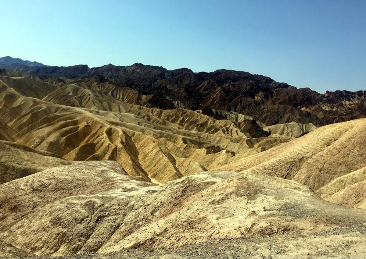 Death Valley-Zabirskie Point