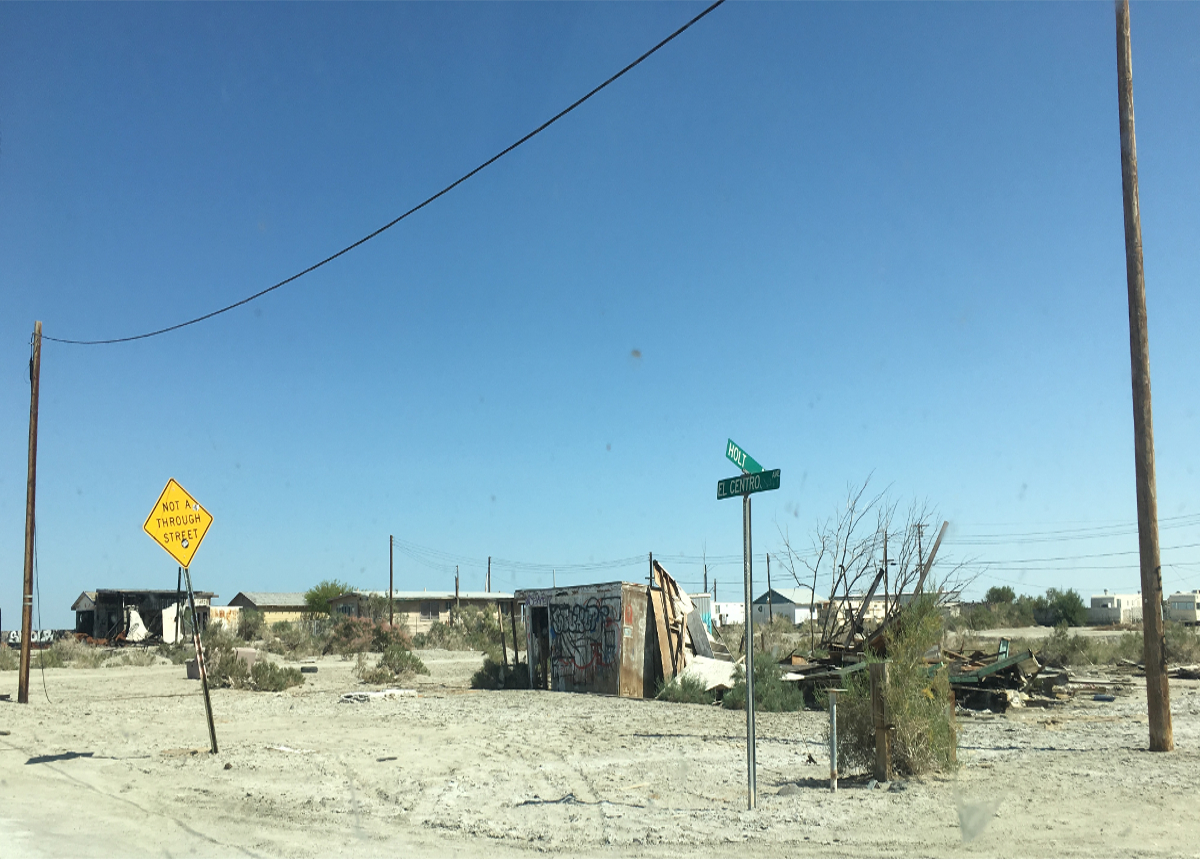 Real America-Ghost Town in Usa