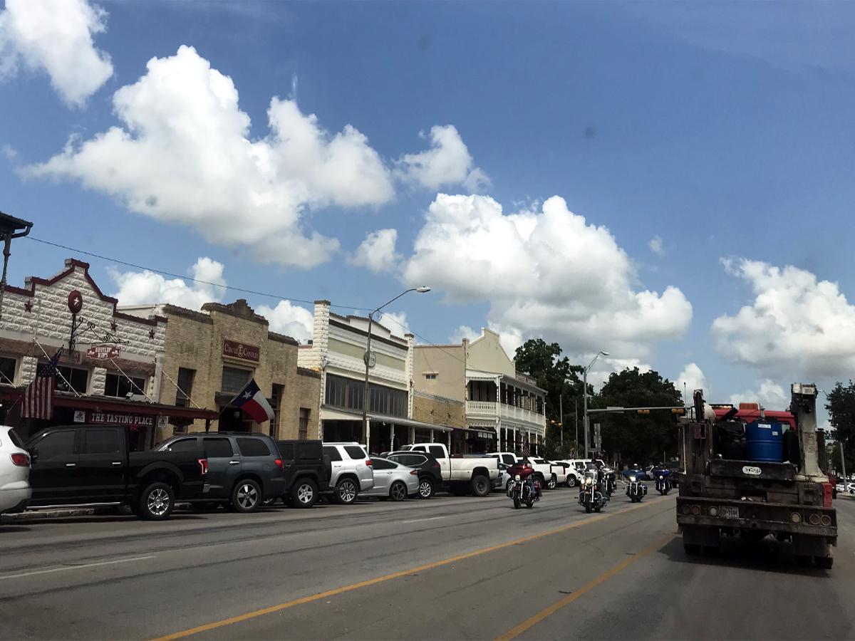 Real America-historic Town Usa