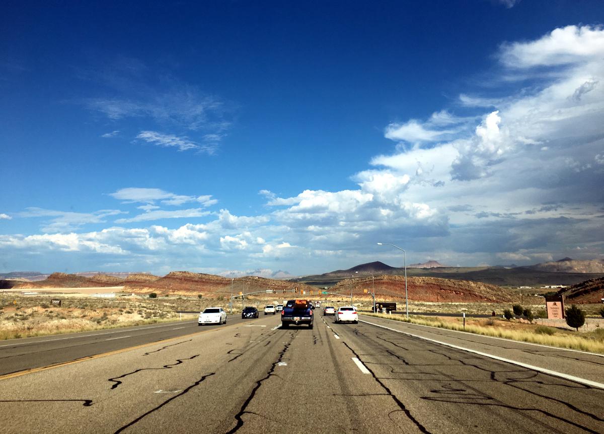Droga w stanie Utah