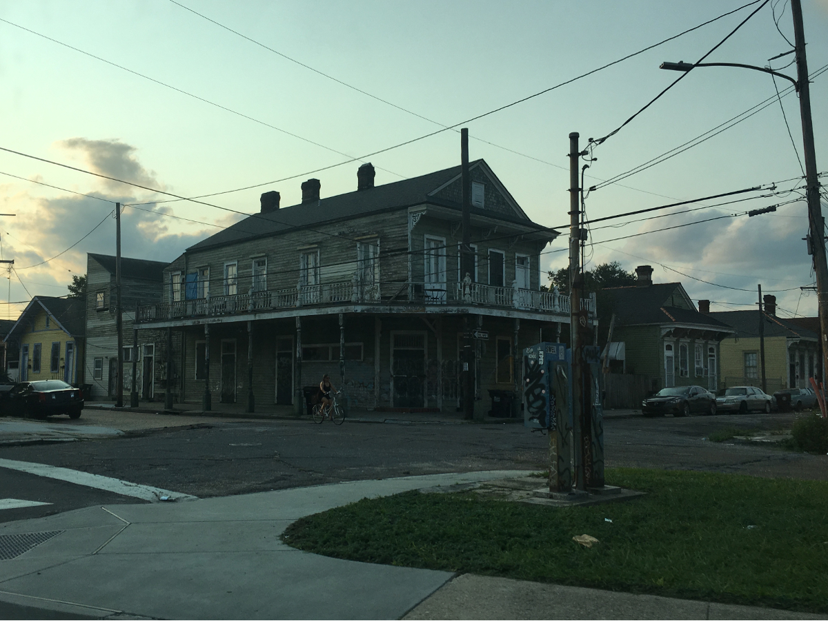 REal America- Poor New Orleans