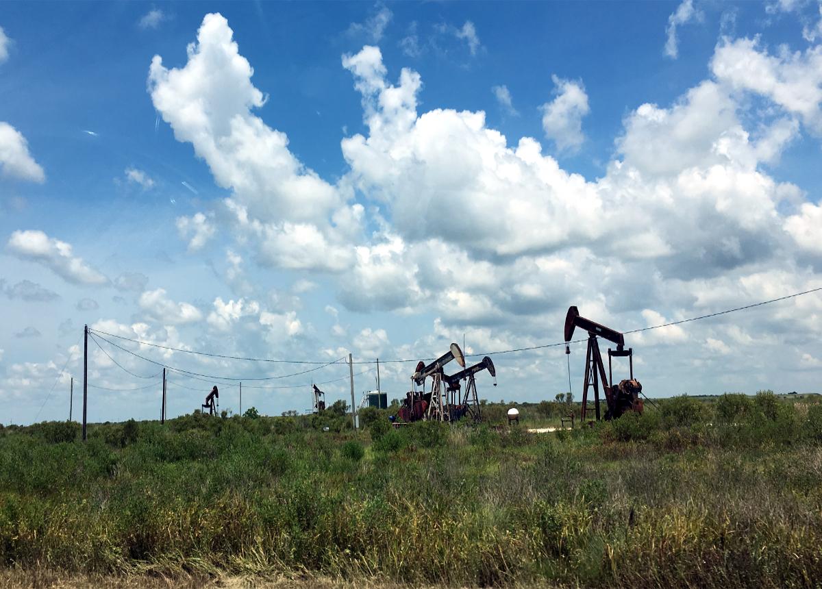 Real America-Oil pumps,Texas