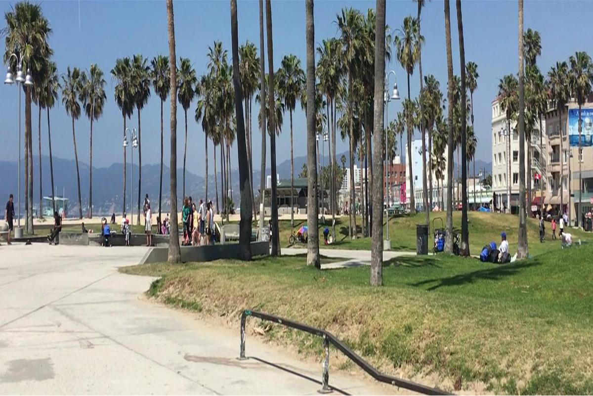 Real America- Homeless  at Venice Beach