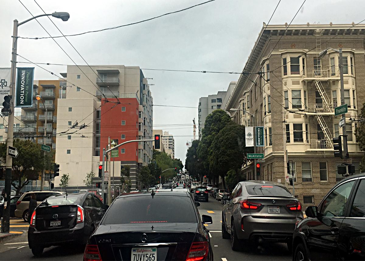 Korki w San Francisko