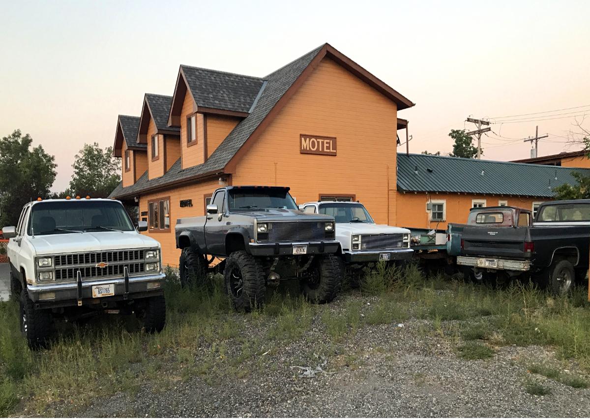 Cheap accommodation-Motel, Montana