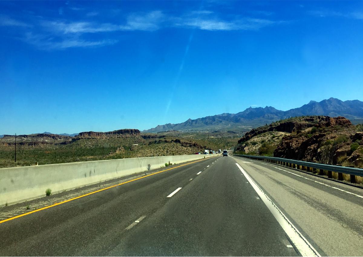 Public Transport in Usa-Nevada Road