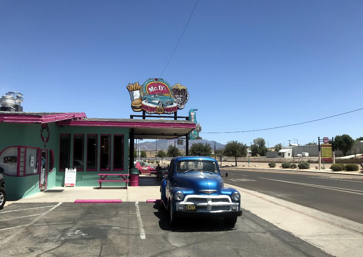 jedzenie w usa-Restauracja Route 66