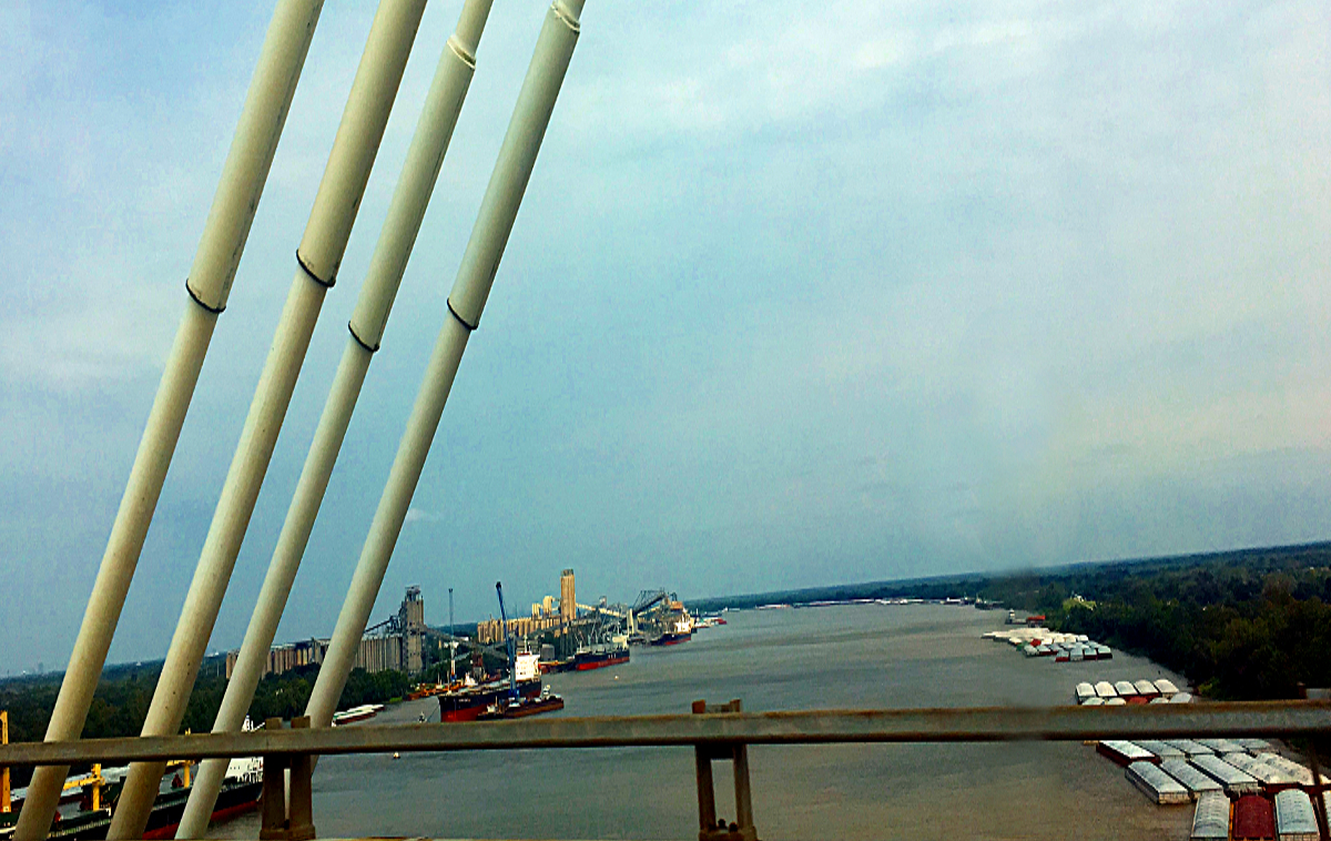 Nowy Orlean-Mississippi River